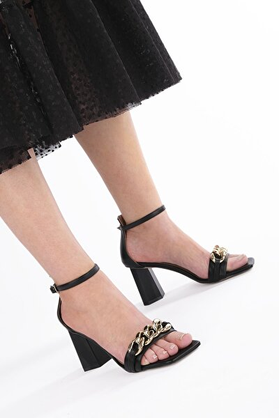 Lora Kadın Klasik Topuklu Ayakkabısiyah