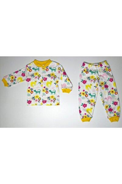 Önden Çıtçıtlı Bebek Pijama Takımı