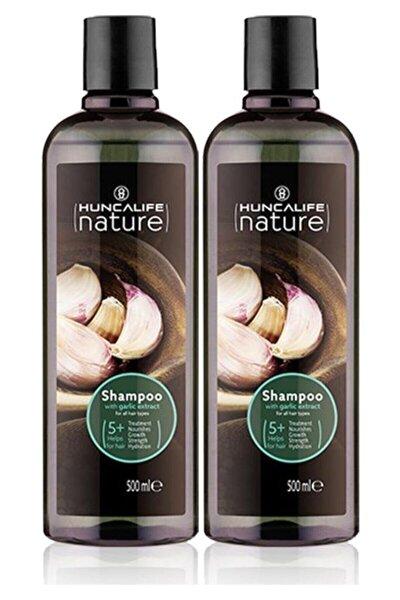 Sarımsaklı Şampuan 500 ml 2 Li Set Sarımsaklı-2