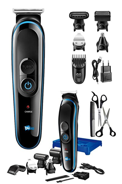 Özel Erkek Bakım Tıraş Makinesi 8 Ürün Bir Arada Saç Sakal Burun Kulak Ense