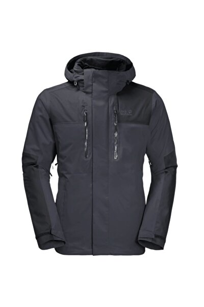 Erkek Siyah Jasper Outdoor Ceket