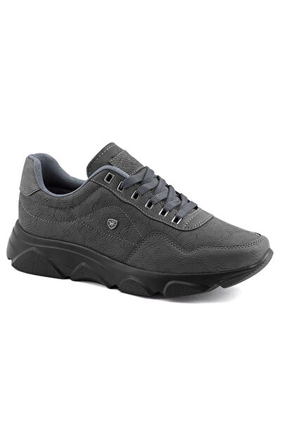 019 Füme Siyah Erkek Spor Ayakkabı