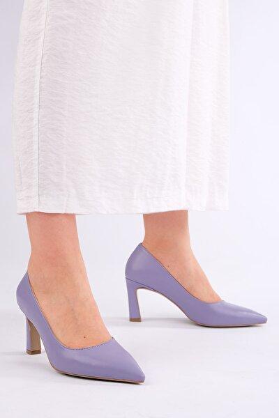 Kadın LİLA Stiletto Topuklu Ayakkabı Akuna