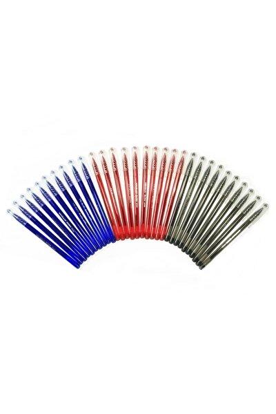 Büro Tükenmez Kalem 3 Renk 30 Adet