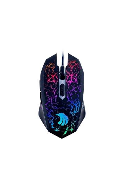 Pgm02 Gaming Mouse + Mouse Pad Mavi