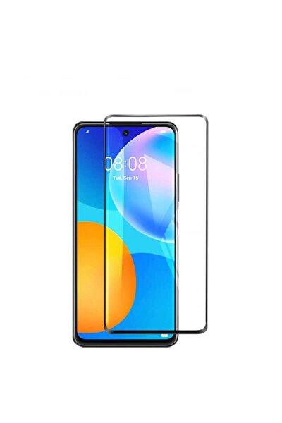 Huawei P-smart 2021 Uyumlu 3d Komple Kırılmaz Cam Ekran Koruyucu