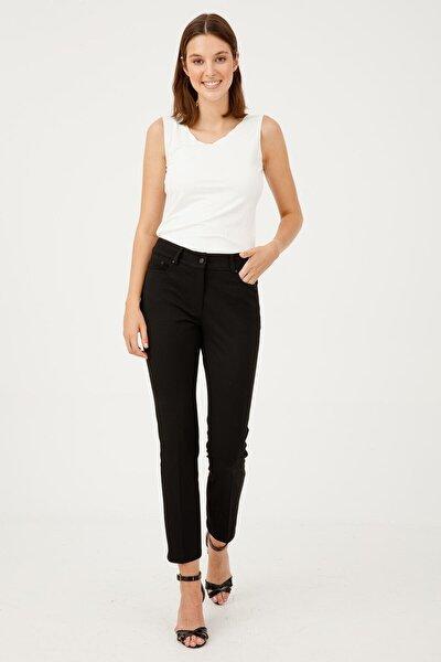 Kadın 5 Cep Siyah Pantolon 1001