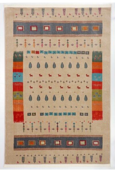 Renkli Eskitme Vıntage Koleksiyon Halı  Al26a