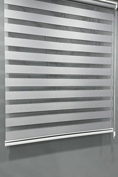 Stor Zebra Perde Düz Gri Vp 911