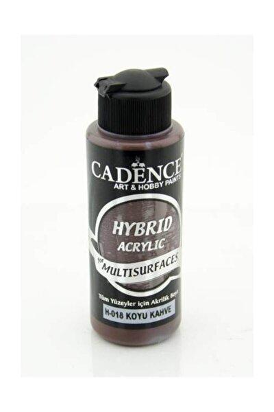 Hybrid Multisurface Akrilik Boya 120 ml. H-018 Koyu Kahve