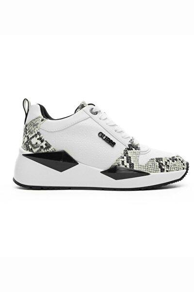 Renkli Beyaz Kadın Sneaker FL5TLY.WHIBL