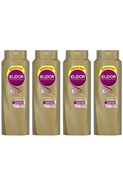 Saç Dökülmesine Karşı Bakım Saç Bakım Şampuanı 650 Ml 4 Adet