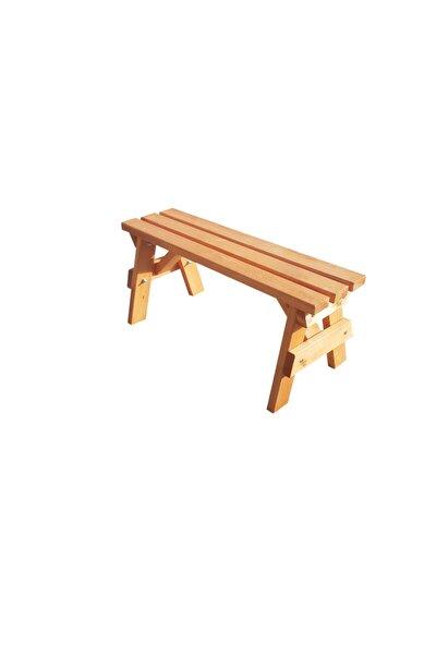 Bank Ahşap Bench Sandalye Mutfak - Kahve