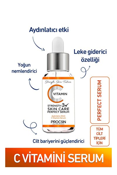 C Vitamini Serumu 22 ml 8697863680917