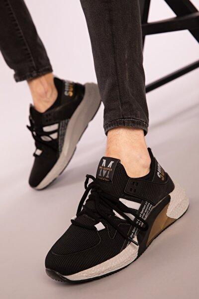 Siyah Erkek Sneaker 3106