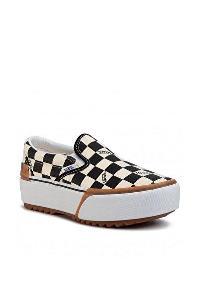 Kadın Sneaker - UA Classic Slip-On Stacked - VN0A4TZVVLV1