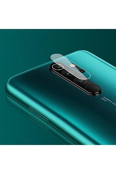Redmi Note 8 Pro Uyumlu Kamera Koruyucu Şeffaf Lens