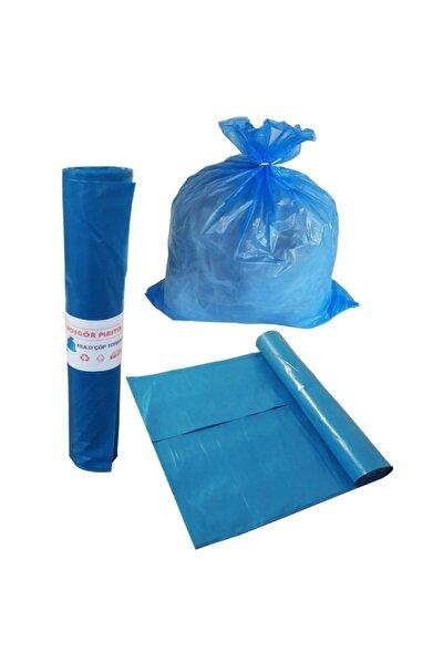 Çöp Torbası Poşeti Mavi Rulo 60x85 Büyük (koli:20 Rulo)