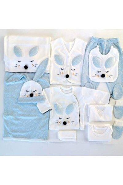 Gaye Mavi Tavşanlı 10'lu Yeni Doğan Hastane Çıkışı