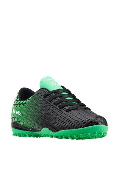 SERGI TURF Siyah Yeşil Erkek Halı Saha Ayakkabısı 100313541