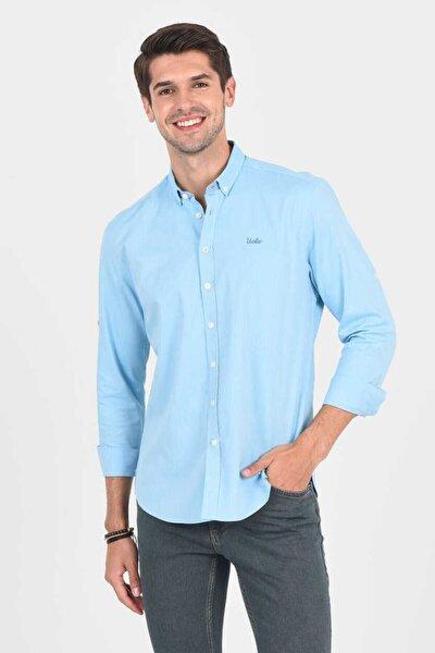 Jackson Aqua Oxford Erkek Gömlek