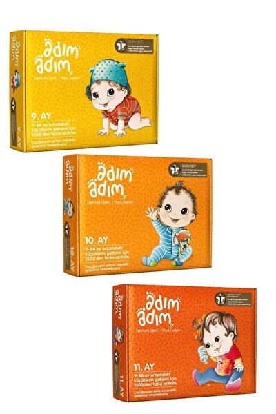 Bebek Eğitim Seti 9-10-11. Ay 3'lü Set - Kozme Store
