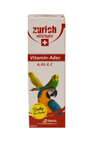 Kuş Vitamini A, D3, E, C Vitaminleri 30 ml