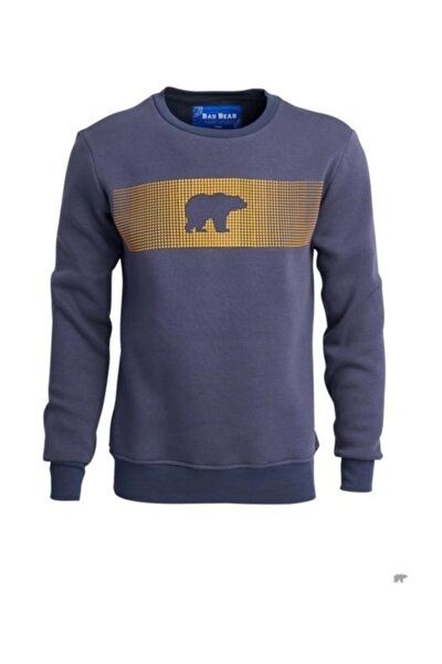 Erkek Mavi Sweatshirt Fancy 190212007rvn