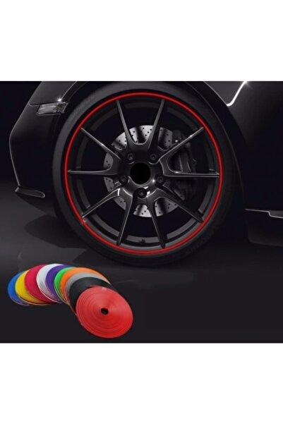 Araba Jant Ve Trim Dekorasyon Bandı Kırmızı Renk
