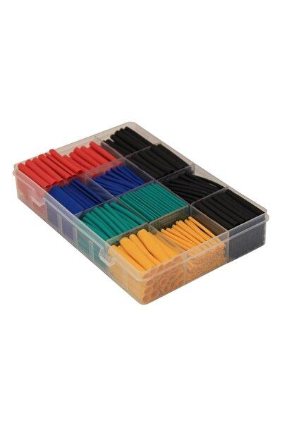 Isıyla Daralan Makaron Polyolefin Shrink Renkli Set Kutulu 520ade