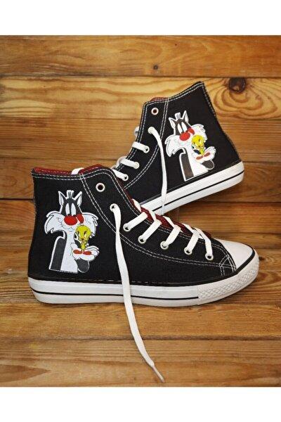 Unisex Siyah Blacksylvester Sneaker
