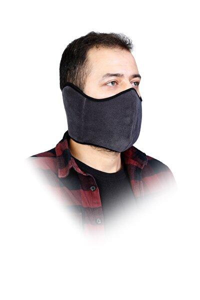 Erkek Gri Yıkanabilir Kış Maskesi
