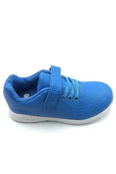Erkek Çocuk Saks Mavi Spor Ayakkabı