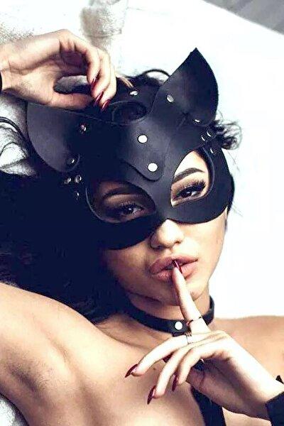 Seksi Kedi Kadın Maskesi