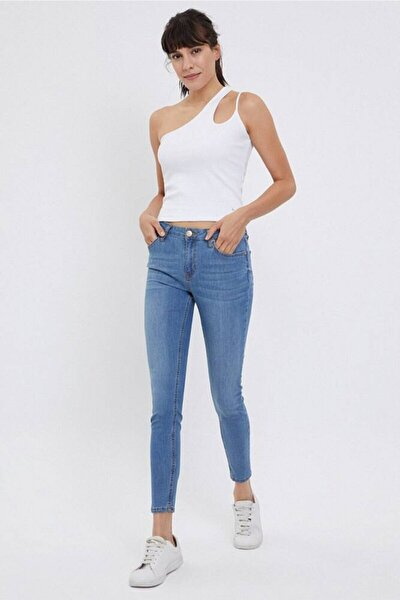 Kadın Nicole Nesto Pantolon Jean