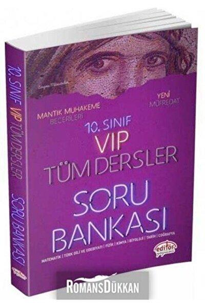 Editör 10.sınıf Vip Tüm Dersler Soru Bankası