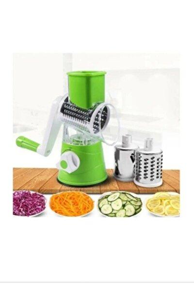 Çevirme Kollu Sebze Doğrayıcı Rende Vegetable Slicer Sebze Dilimleyici