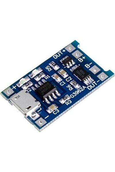 Tp4056 Korumalı 1a Lipo - Li Ion Pil Şarj Devresi 3,7v Micro Usb
