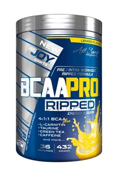 Bigjoy Bcaa Pro 4:1:1 Ripped 432 gr - Limon Aroma -