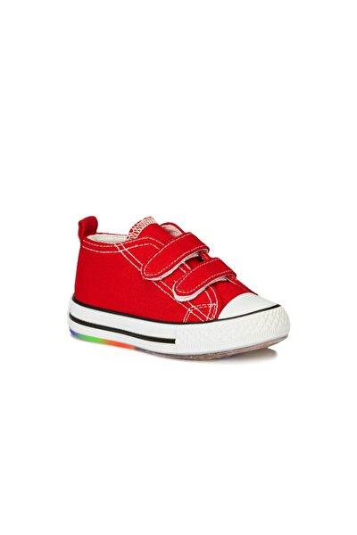 Pino Unisex Çocuk Kırmızı Spor Ayakkabı