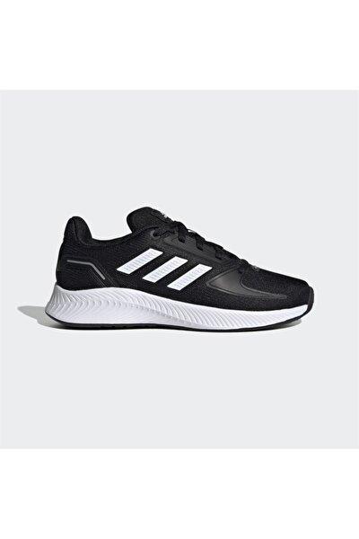 Kadın Siyah Bağcıklı Koşu Ayakkabısı