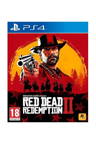 Red Dead Redemption 2 Standart Edition Ps4  Oyun