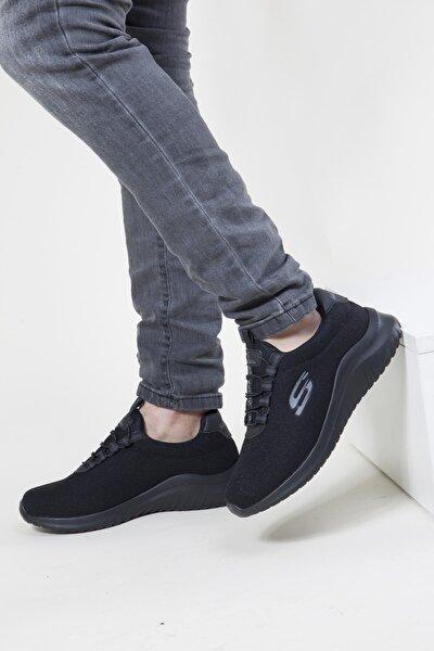 Unisex Siyah  Sneakers Spor Ayakkabı