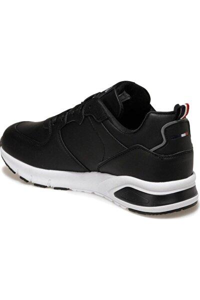 Vance Siyah Erkek Bağcıklı Yürüyüş Ayakkabısı