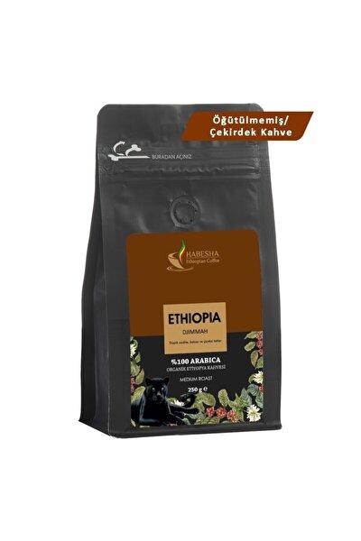 Djimmah Organik Etiyopya Yöresel Kahvesi 250 gram Öğütülmemiş/çekirdek Kahve