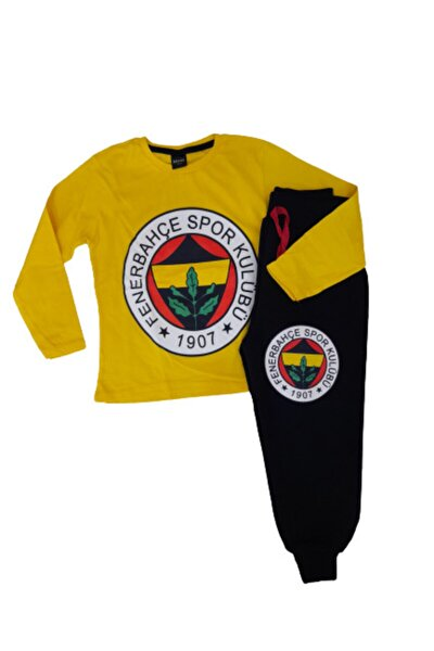 Fenerbahçe Taraftar Çocuk Eşofman Takımı Mevsimlik