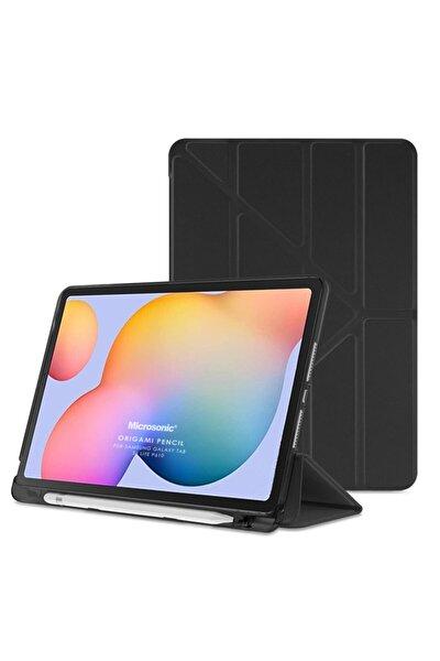 "Microsonic Galaxy Tab S6 Lite 10.4"" P610 Kılıf Origami Pencil Siyah"