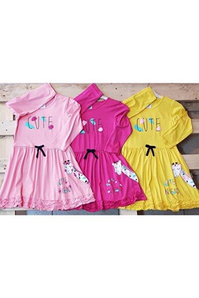 3 Al 2 Öde Cute Elbise