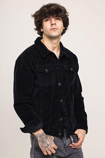 Siyah Kadife Ceket 1kxe4-44517-02