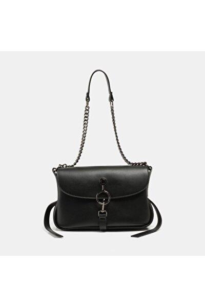 Siyah Kadın Mini (çapraz) Çanta